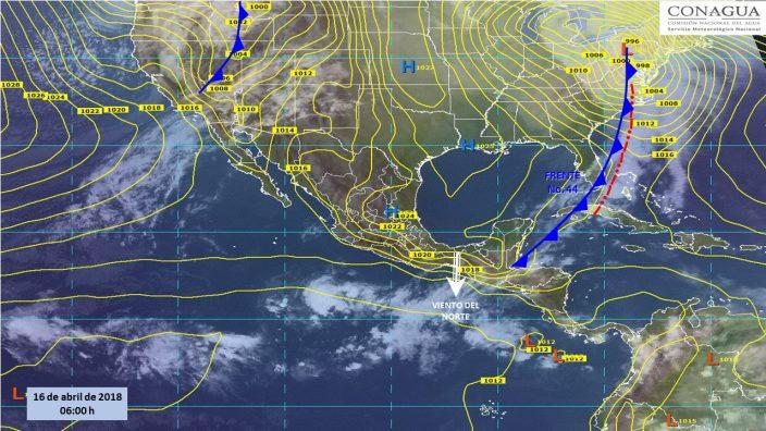 Lluvias aisladas en once estados de la República Por Redacción Express Publicado en Destacadas México Publicado en 16 abril 2018