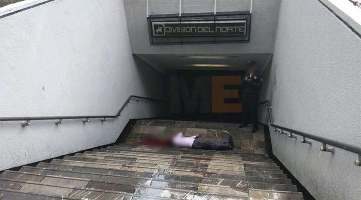 Asesinan a hombre en la estación División del Norte
