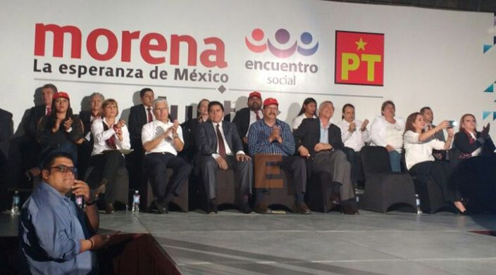 Fausto Vallejo será candidato de la coalición PT-PES, afirma Reginaldo Sandoval