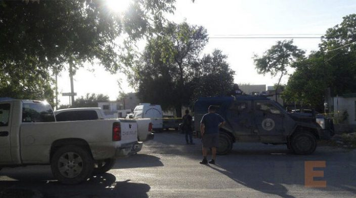 Intensa movilización tras emboscada a policías en Reynosa
