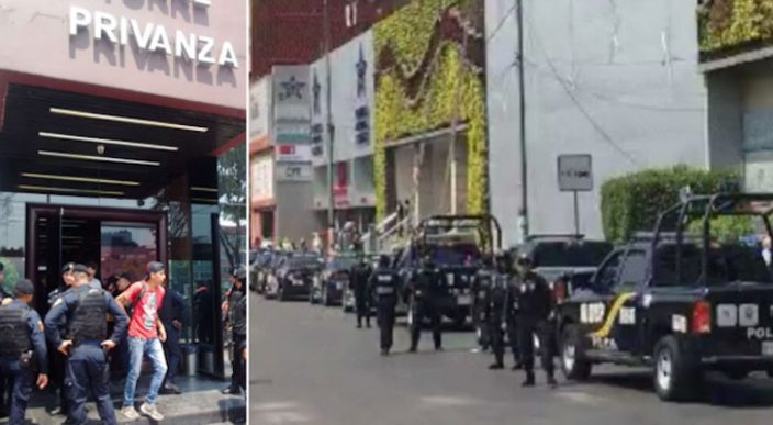 Frustran atraco a periódico La Razón; hay 3 detenidos