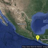 Se registra sismo de 4 grados Richter en Tonalá, Chiapas