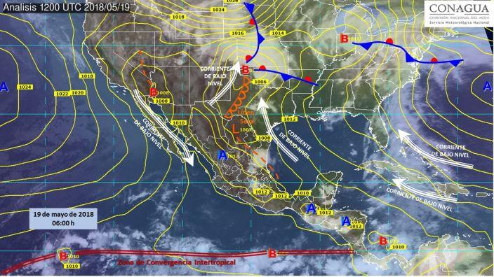 Altas temperaturas predominarán en gran parte del territorio mexicano