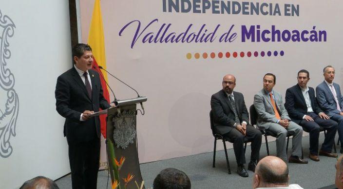 Ayuntamiento conmemora la Promulgación de la Independencia en Valladolid de Michoacán