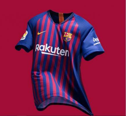 Barcelona presenta su nueva camiseta con un drone