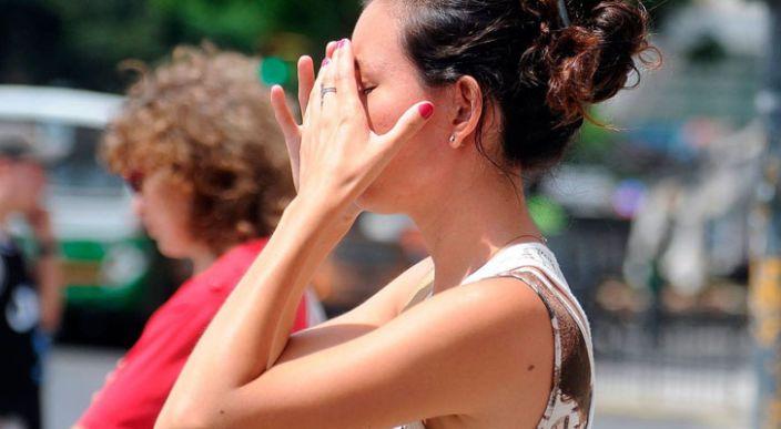 En gran parte del país se esperan temperaturas superiores a 40 grados