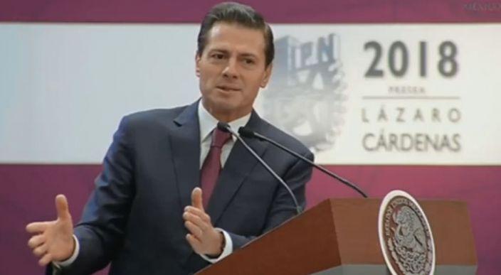 Falso que sea un tema político el caso de Elba Esther Gordillo: EPN