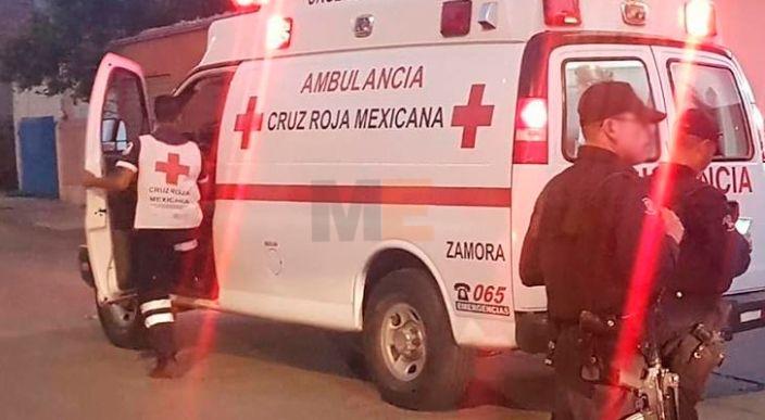 Trasladan grave a un hombre baleado en la Ejidal Sur de Zamora, Michoacán