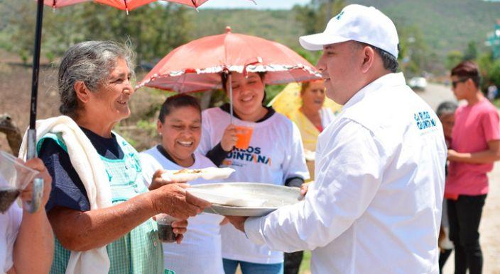 Rescataremos la zona rural en Morelia del olvido en el que se encuentra: Carlos Quintana