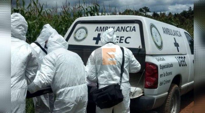 Encuentran un cuerpo encobijado en Erongarícuaro, Michoacán