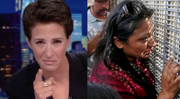 Conductora llora al dar noticia de niños migrantes en EEUU