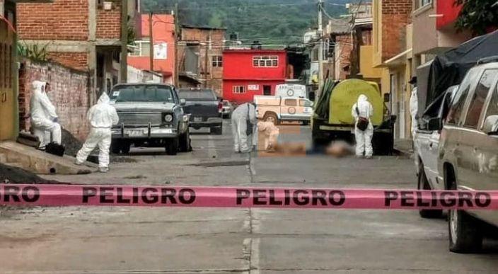 Asesinan a dos hombres en Quiroga, Michoacán