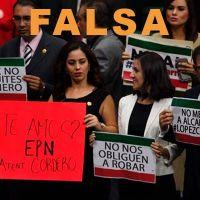 Circula imagen falsa de funcionarios que protestan por ajuste de salario