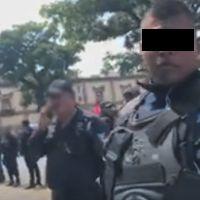 Reportero denuncia agresión de la Policía Morelia al realizar su trabajo