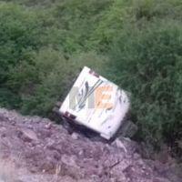 """Autobús de turismo cae a barranca en la pista """"Siglo XXI""""; hay 11 heridos"""