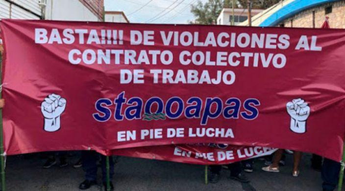 STAOOPAS sin acercamiento con autoridades cumple 32 días de huelga