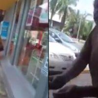 Anciano derrama supuesto ácido para correr a una niña indígena en Cancún