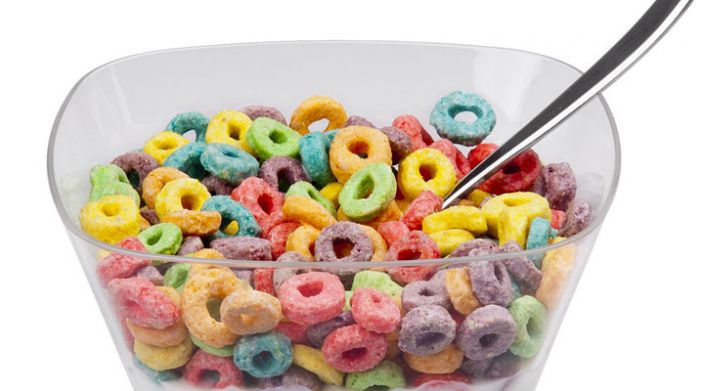 No hay sabores en los Froot Loos, todos los colores son del mismo sabor