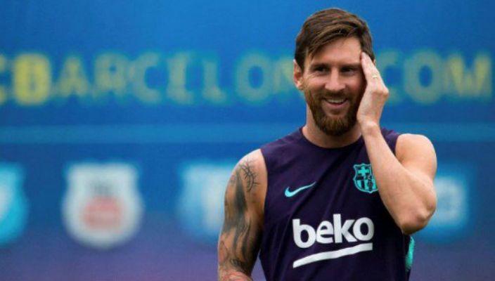 Impresionante el túnel de 50 yardas de Messi