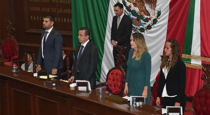 Estos son los integrantes de la Junta de Coordinación Política de la LXXIV Legislatura