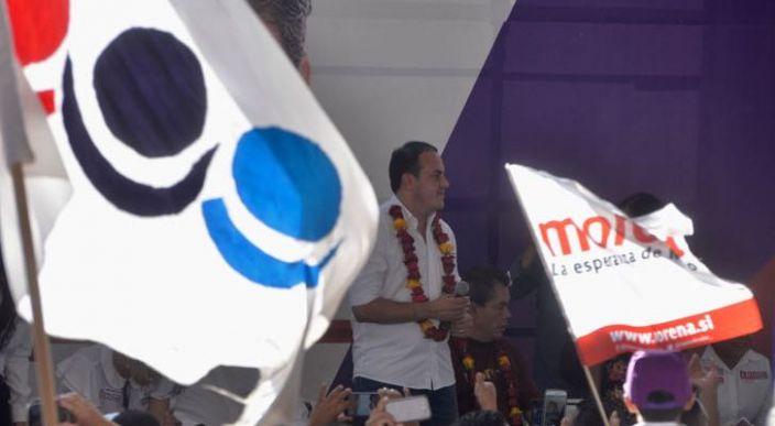 Cuauhtémoc Blanco podría registrar un nuevo partido 'México Blanco'