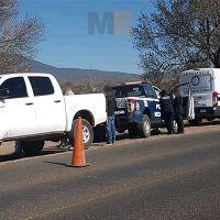 Dos presuntos delincuentes mueren en tiroteo contra agentes antisecuestros en Villa Madero, Michoacán