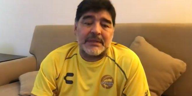 Maradona se aísla por prevención después de que guardaespaldas presentara síntomas de covid-19