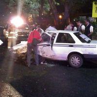 Taxista resulta lesionado tras choque con vehículo particular en Morelia