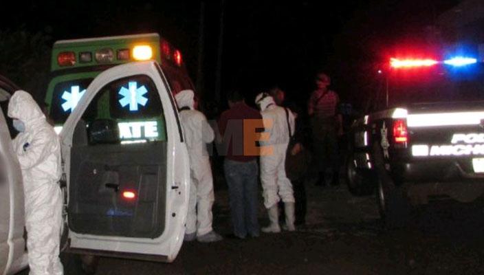 Hombre es asesinado a tiros en Sahuayo, Michoacán