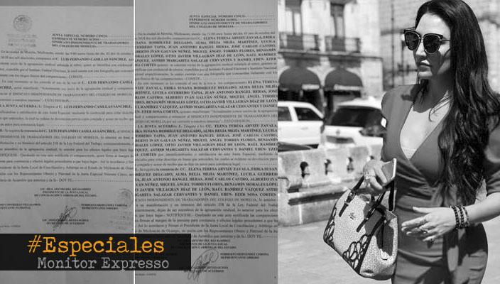 Bajo irregularidades, Omega Vázquez despide a sindicalizados del Colegio de Morelia