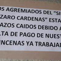 Por falta de pagos sindicato de salud en Michoacán en paro de brazos caídos
