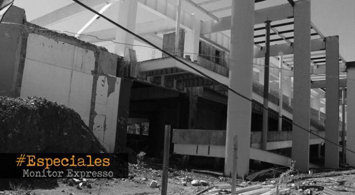 Expo Centro: obra detenida, retrasada y sin fecha de entrega lleva gastado 100 millones de pesos