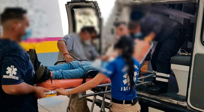 Joven es baleado en la colonia La Esperanza de Jacona, Michoacán