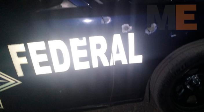 Maleantes atacan y matan a tres policías federales en Morelia; abaten a presunto delincuente