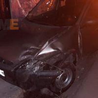 Mujer queda lesionada tras choque de autos en Zitácuaro