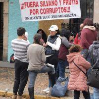 CNTE Michoacán lanza comunicado sobre falta de pago a magisterio