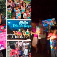 """El Mencho"" presuntamente entrega juguetes a niños de comunidades vulnerables"