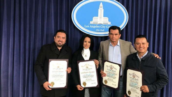 Arranca conversatorio migrante en Los Ángeles, CA: Erik Juárez