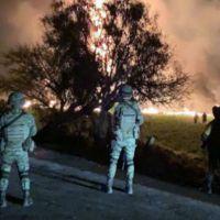 Atiende IMSS a 22 personas heridas por explosión en ducto de gasolina en Tlahuelilpan, Hidalgo