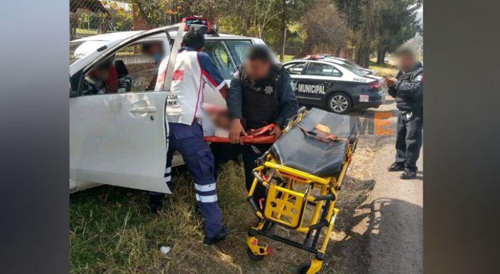 Automovilista queda herido por un impacto de bala, en Morelia
