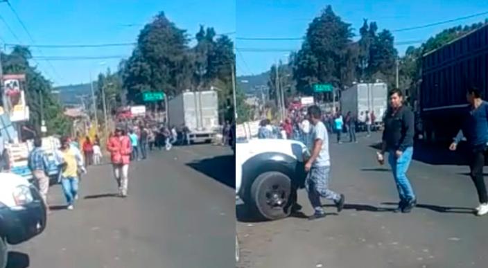 """Hay 18 detenidos por bloqueo en Opopeo entre ellos """"El Chilaquil"""""""