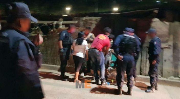 Tres heridos al participar en pelea callejera en Zitácuaro