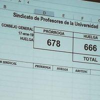 Por 12 votos de diferencia, SPUM prorroga huelga