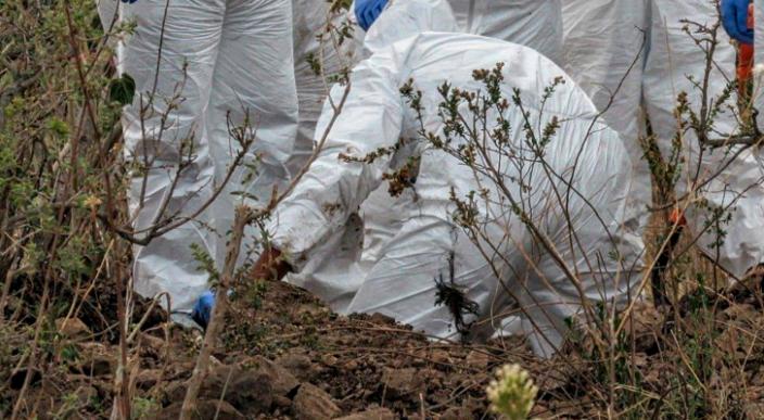 Encuentran el cuerpo de un hombre en Inguambalen Uruapan, Michoacán