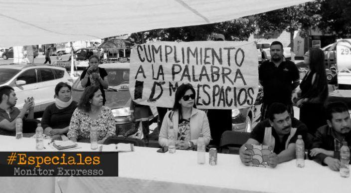 Villas del Pedregal abandonado por el gobierno de Raúl Morón, acusan vecinos
