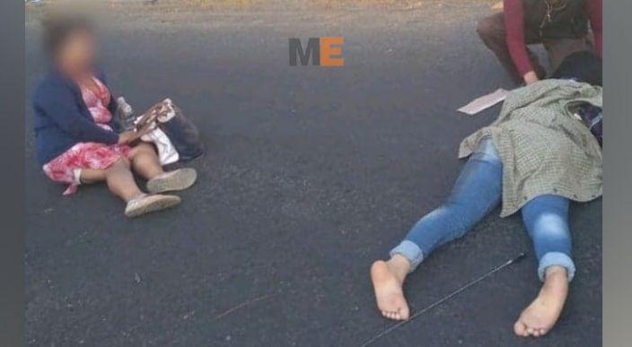 Madre e hija quedan lesionadas al ser atropelladas en la Avenida Camelinas de Morelia