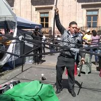 Tras un mes de protestas, CNTE logra compromisos de autoridades, concluyen protestas