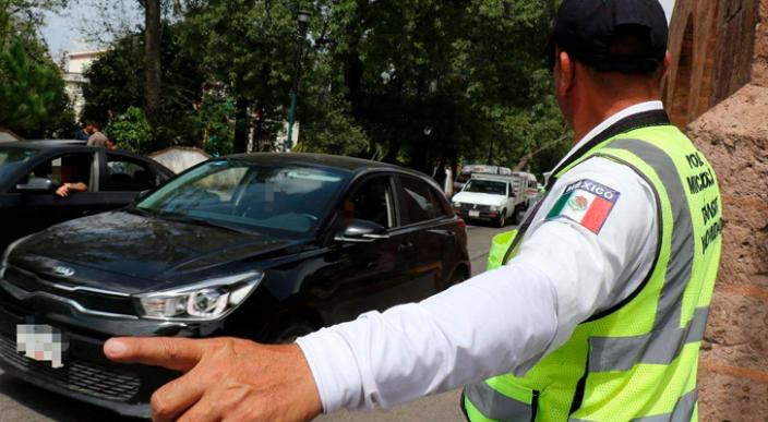 Aplicó Tránsito 293 infracciones y remitió 108 unidades a corralón: Seguridad Publica Michoacán