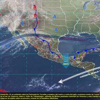 Vientos fuertes y tormentas para algunos estados del país