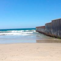 Ambiente muy frio y rachas fuertes de viento en el norte de México